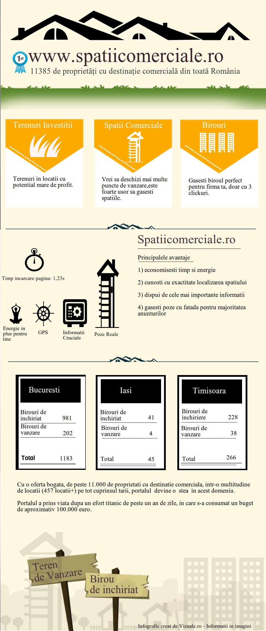 infografic al pietei imobiliare